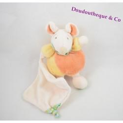 Doudou Zazie mouse DOUDOU and the Z company ' orange handkerchief amigolos