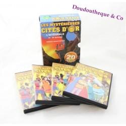 Coffret 4 Dvd Les Mystérieuses Cités d'or remasterisée 39 épisodes