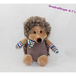 Plush Hedgehog FERRERO KINDER 23 cm Brown glove scarf