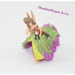 Figurine Elfe PAPO cavalière au renard 38815
