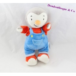Plush you Charlie overalls blue and Red 25 cm