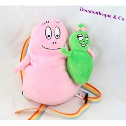 Backpack plush JEMINI Barbapapa and Barbalala 24 cm
