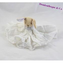 Doudou lapin DOUDOU ET COMPAGNIE L'ange blanc créateurs de rêve GM DC2359