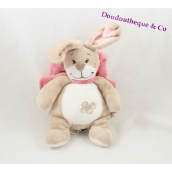 Doudou lapin NOUKIE'S collection Oscarine et Léontine 22cm