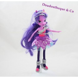 Poupée mannequin Twilight EQUESTRIA GIRLS Rainbow Rocks My little pony 23 cm