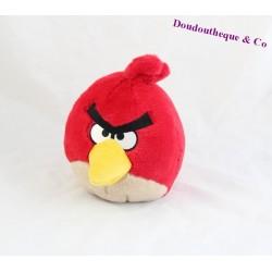 Doudou, peluche oiseau ANGRY BIRDS rouge 16cm