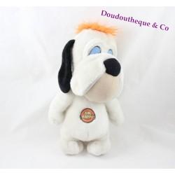 Peluche chien Droopy JEMINI blanc I'm Happy ! 30 cm