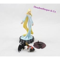 Figurine manga Albator Captain Harlock FURUTA femme blonde robe bleu 13 cm