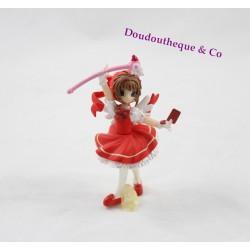 Figurine manga Card Captor Sakura C.K.N Sakura chasseuse de carte robe rouge 10 cm