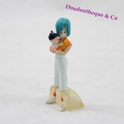 Figurine manga Dragon ball Z GASHAPON Bulma et Trunks bébé 8 cm
