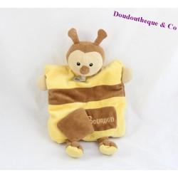 Doudou Hippopotame BABY NAT marionnette alphabet BN909