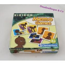 Jeu Memo Games Kirikou CLEMENTONI jeu memory 4 ans et +