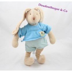 Doudou rabbit MOULIN ROTY A Sunday at the water's edge 32 cm