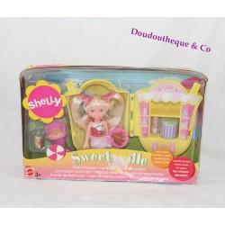 Poupée Barbie Shelly MATTEL Sweetsville La boutique de limonades soda