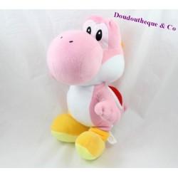 Peluche Yoshi SUPER MARIO Nintendo rose 30 cm