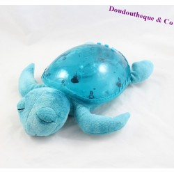 Nightlight music projection turtle CLOUD B aqua 30 cm