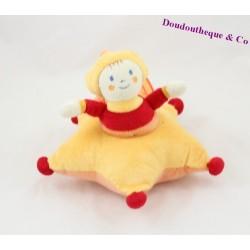 Doudou le Petit Roi KATHERINE ROUMANOFF Dim Dam Doum étoile 18 cm