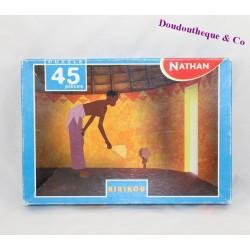 Puzzle Kirikou NATHAN 45 pièces complet