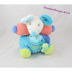 Doudou souris  Multicolore patapouf collection Pop de Kaloo