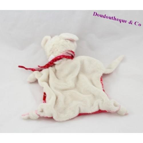 ... Doudou plat mouton SIGIKID écharpe rouge 743c6060d8b