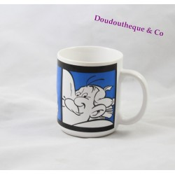 Mug céramique Obélix PARC ASTERIX bleu blanc tasse 10 cm