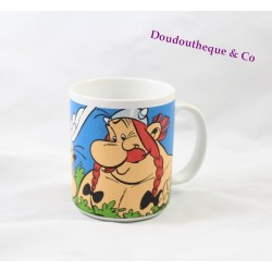 Ceramic Mug Asterix and Obelix PARC ASTERIX cup scene 10 cm