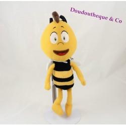 Peluche Willy STUDIO 100 Arkopharma Maya l'abeille jaune noir 34 cm
