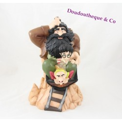 Tirelire Harry Potter TRADEMARKS Hagrid et Goblin chariot pvc Moneybank 30 cm