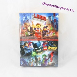 Coffret 2 Dvd LEGO La grande aventure et Batman le film Warners Bros