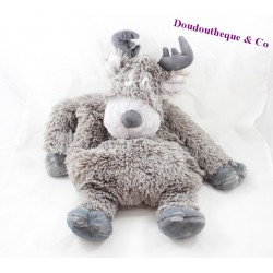 Plush range Pajamas deer ETAM grey momentum bouillotte 45 cm