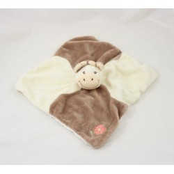 JoLLYBABY cow flat flower beige brown 25 cm