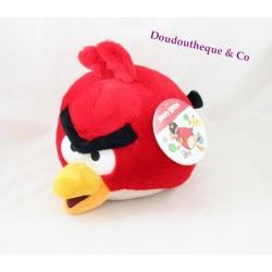 Peluche boule oiseau Angry Birds rouge Rovio TCC 24 cm