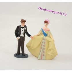 Ensemble 2 figurines Anastasia et Dimitri FOX 97 GTI
