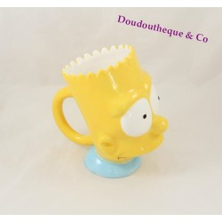 Mug head Bart Simpson broadcast The Simpsons ceramic TROPICO 1996
