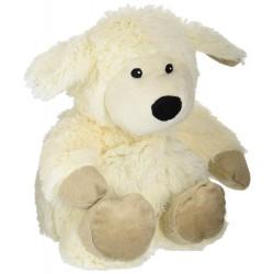 Bouillotte peluche Cosy plush mouton WARMIES peluche chauffante 23 cm