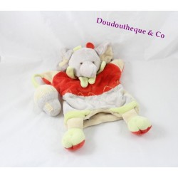 Doudou puppet elephant Doudou and company Alban hut Bell 27 cm