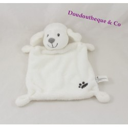 Doudou plat mouton NICOTOY empreinte blanc Simba Toys 24 cm