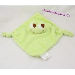 Green BABOU frog dish comforter 2 knots 38 cm