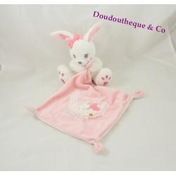 Doudou mouchoir lapin SIMBA TOYS BENELUX Sweet baby dreams rose 40 cm