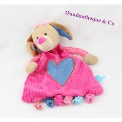 Dog flat comforter LIEF! pink blue heart jeans Lifestyle 26 cm