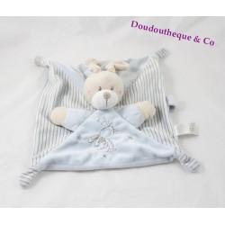 SIMBA TOYS BENELUX rabbit flat comforter blue Laline stars Nicotoy 25 cm