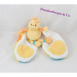 Butterfly comforter KIMBALOO yellow green blue orange 30 cm