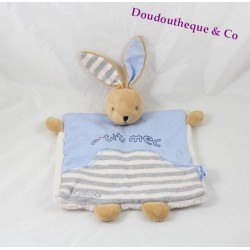 Rabbit comforter flat KALOO little boy Blue Denim