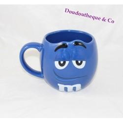 Mug tête chocolat M&M's Store bleu visage 3D céramique