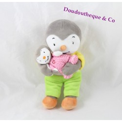 Plush you T'choupi  NICOTOY you T'choupi  and his sister Fanny 23 cm