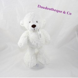 Plush Pol bear HAPPY HORSE white polar bear 25 cm