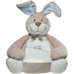 Plush Oscar Oscar rabbit NOUKIE'S Oscar and Leon baby armchair 50 cm