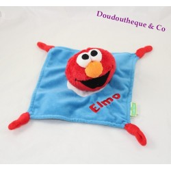 Elmo SESAMSTRAAT flat duvet blue red 4 knots 20 cm