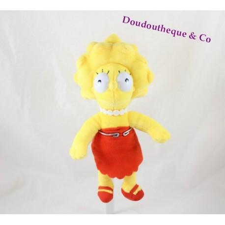 Peluche Lisa GIPSY The Simpsons fille robe rouge Matt Groening 24 cm