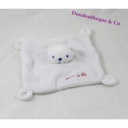 Comforter flat bear brown wheat grain brown bear disguised as rabbit